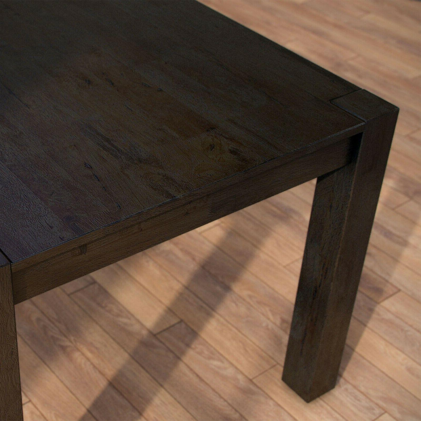 Better Gardens Bryant Dining Table, Coffee Finish