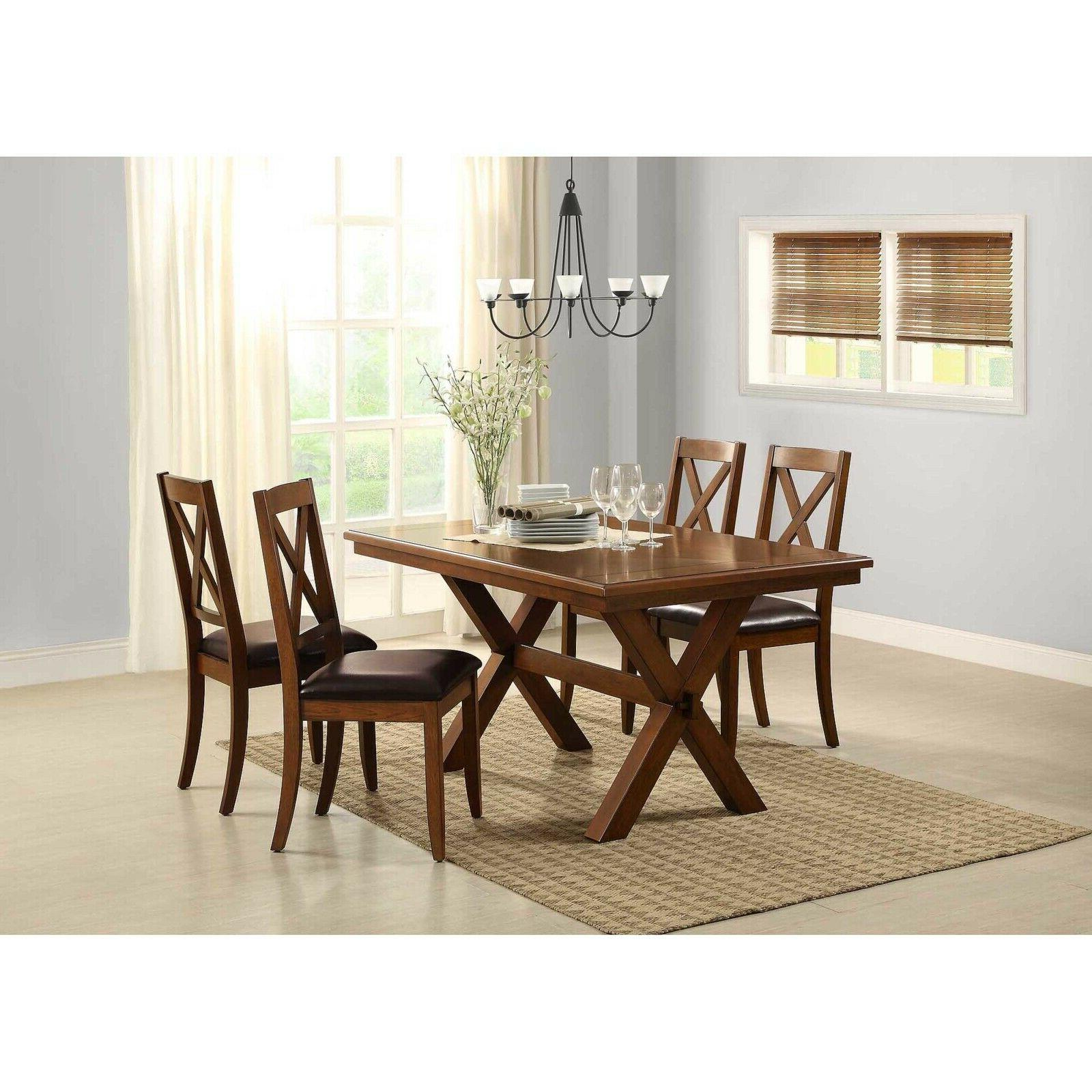 Dining Table Homes Gardens Maddox Crossing Rectangle Shape