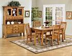 Cambridge 5 Pc Dining Set, Solid white oak table and chairs,