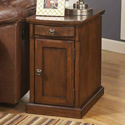 Chairside End Table in Medium Brown - Signature Design by As