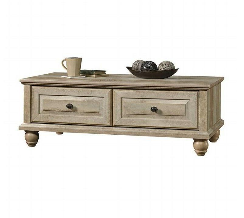 Coffee Table Better Homes And Gardens 2 Drawers With Metal R