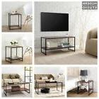 3 Piece Coffee Table End Tables Set Living Room Side Chair F