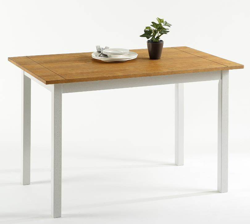 cottage dining table farmhouse kitchen natural solid