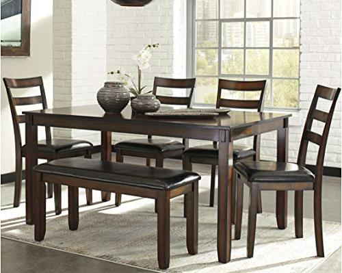 Ashley Furniture Design - Coviar Table and with Bench