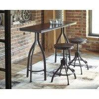 Signature Design by Ashley D284-113 Odium Dining Table, Gray