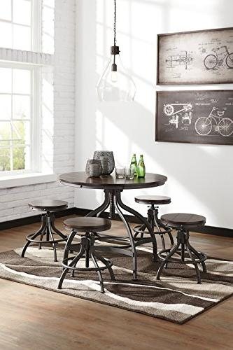 Ashley Signature - Counter Dining Room Bar - Brown