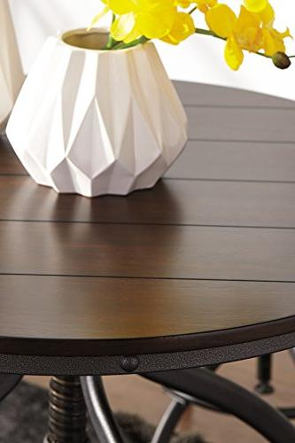 Ashley - Odium Counter Dining Bar Stools Brown