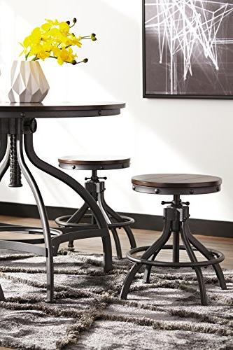 Ashley - Odium Height Dining Room Bar Stools