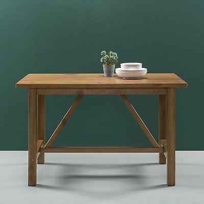 detailed dining table finish
