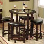 Dinette Sets For Small Spaces Dining Table 4 Kitchen Solid 2