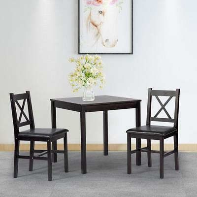 dining kitchen table dining set 3 piece