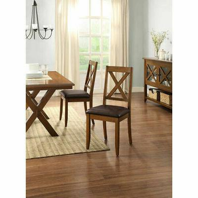 Dining Room Furniture Table Set Kitchen Chairs Wood