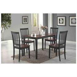 Dining set by Coaster 5pc complete set by Coaster Furniture