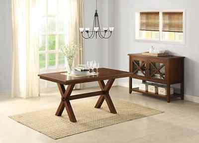 6 Maddox with Bench Wood Room Sets