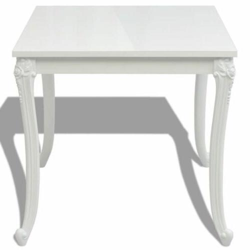 Dining Table High Gloss Home Kitchen Table US