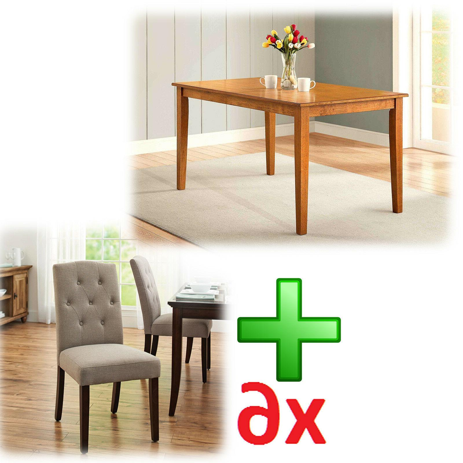 Dining Table 7 Piece Contemporary