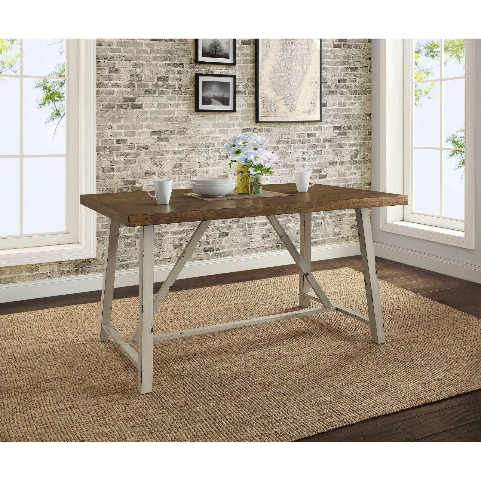 dining table farmhouse rustic 4 seat kitchen