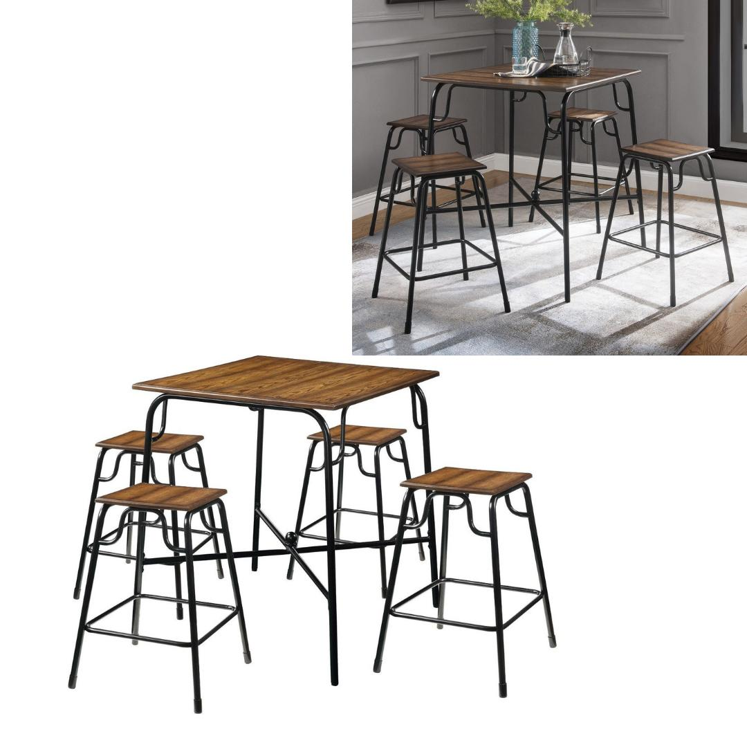 dining table set counter height pub bistro