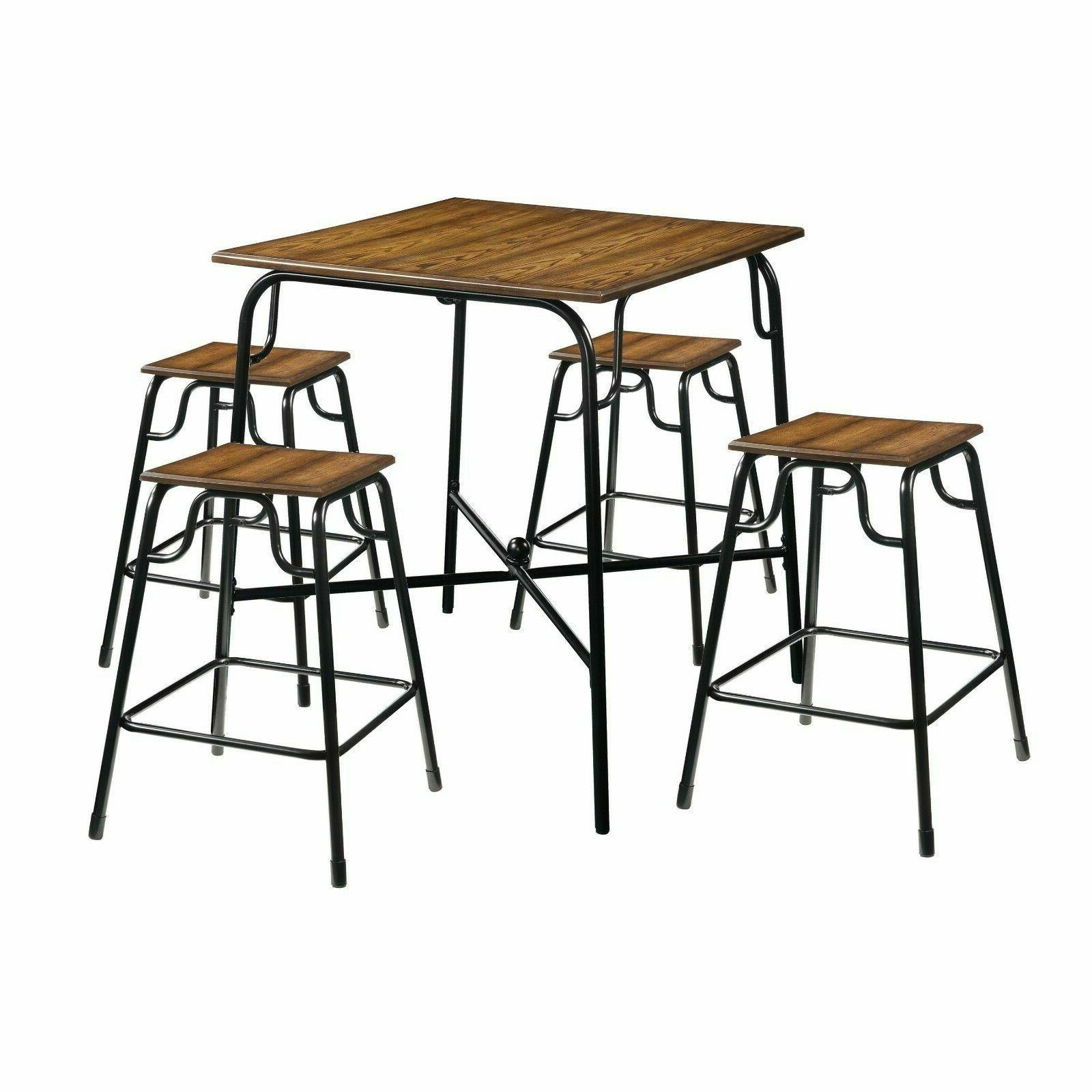 Dining Table Set Counter Height Pub Bistro Kitchen Tables An