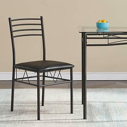 Dining Table with 4 Included,