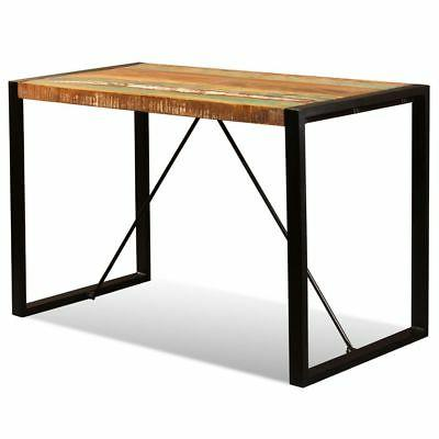 "vidaXL Table Reclaimed Industrial 47.2""/70.9"" Kitchen"