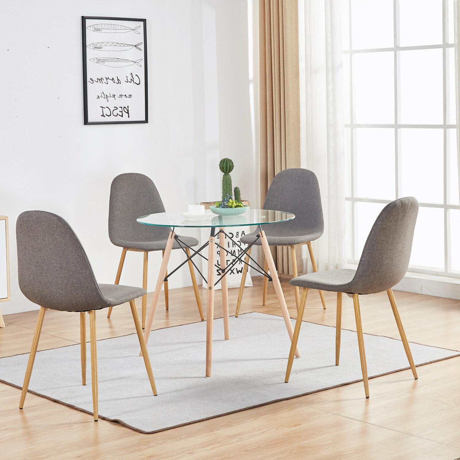 dining table with 4 side chairs 5