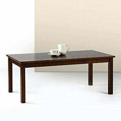 Zinus Jamie Espresso Wood Coffee Table