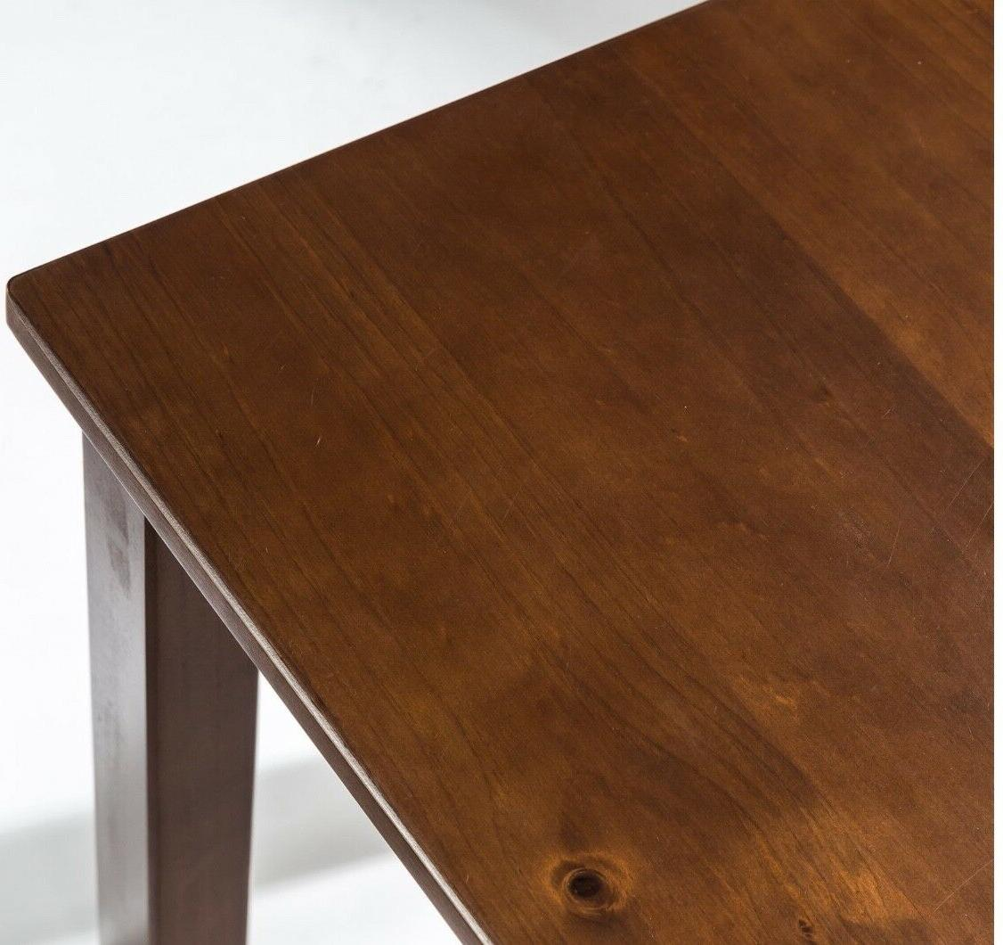 Zinus Wood Table with 2
