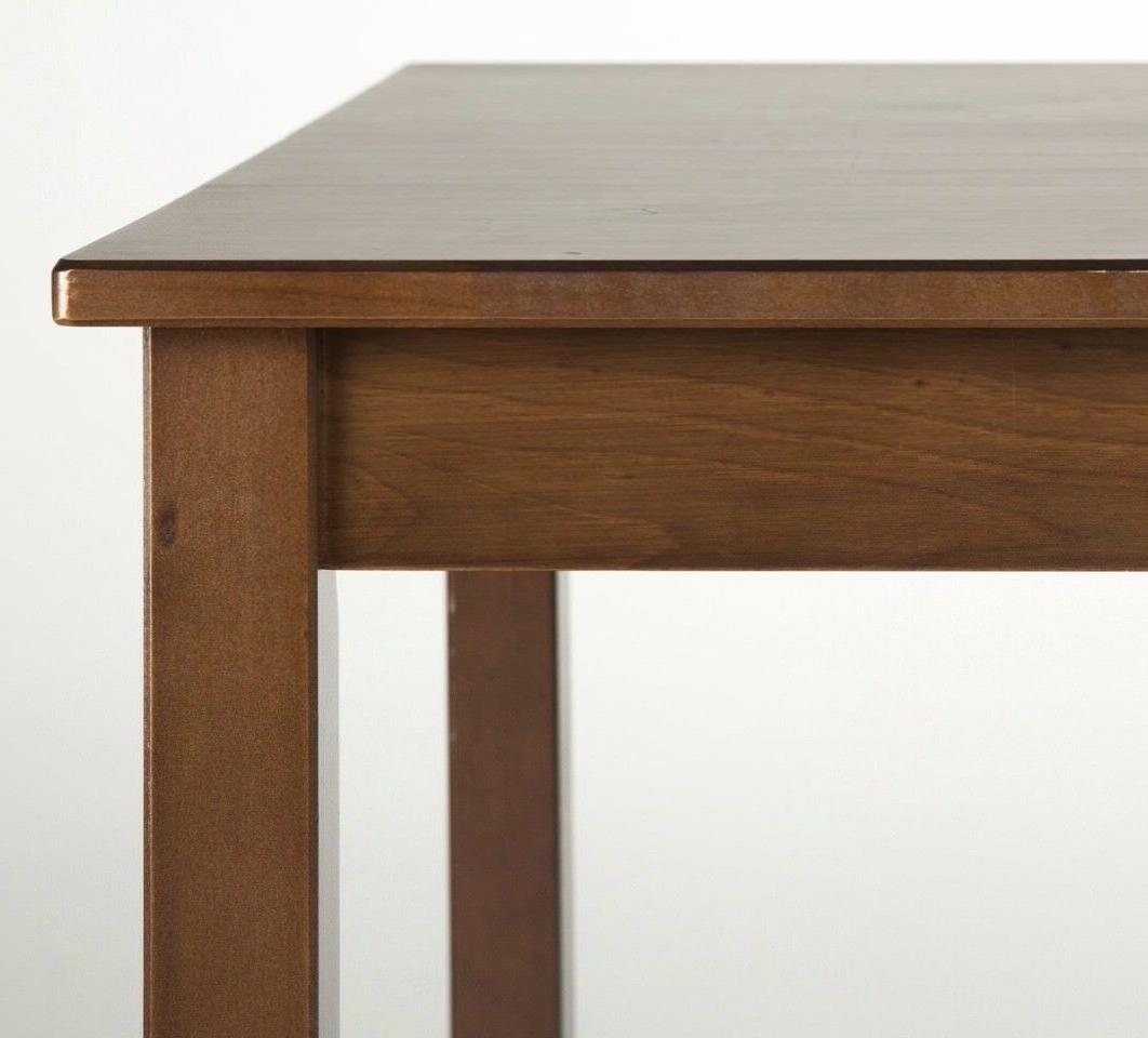 Zinus Espresso Dining Table with /