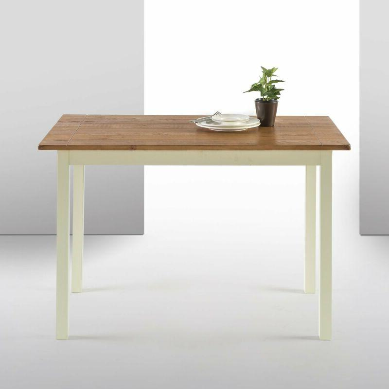 farmhouse wood dining table table only
