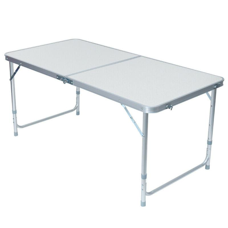 Folding Portable Outdoor Picnic Dining Tables +4x Chair