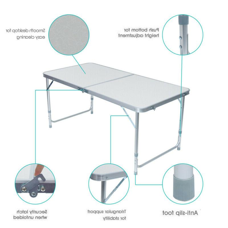 Folding Table Picnic Camp Tables