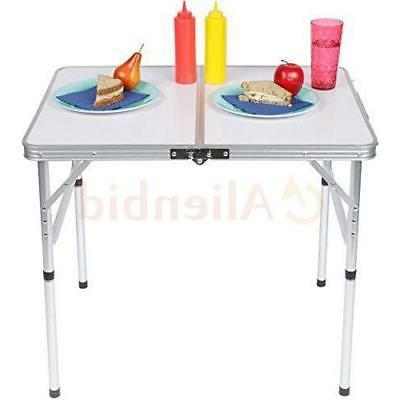 Folding Table Portable Outdoor Picnic Tables L 2FT W