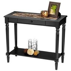 Convenience Concepts French Country Foyer Hall Table - 1 Dra