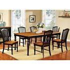 Dining Table Furniture Two Tone Country Style 18 inch Kitche