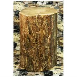Glacier Country Cowboy Stump End Table