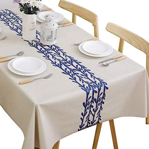heavy duty vinyl table cloth