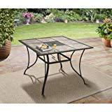 """Mainstays Heritage Park 40"""" x 40"""" Dining Table"""