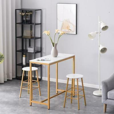 3 Marble Stools Pub Sets Counter Height Chairs Furniture