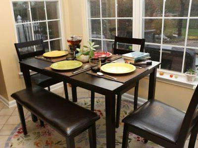 Home 5pc Dining Dinette Chairs Set