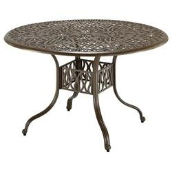 Home Styles Floral Round Dining Table