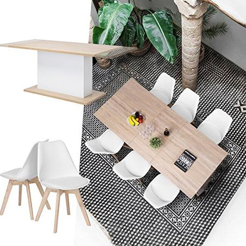 Extendable Dining Mltifunction Saving Table