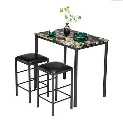 Hot Piece Dining Table Set Counter Table Bar Stools