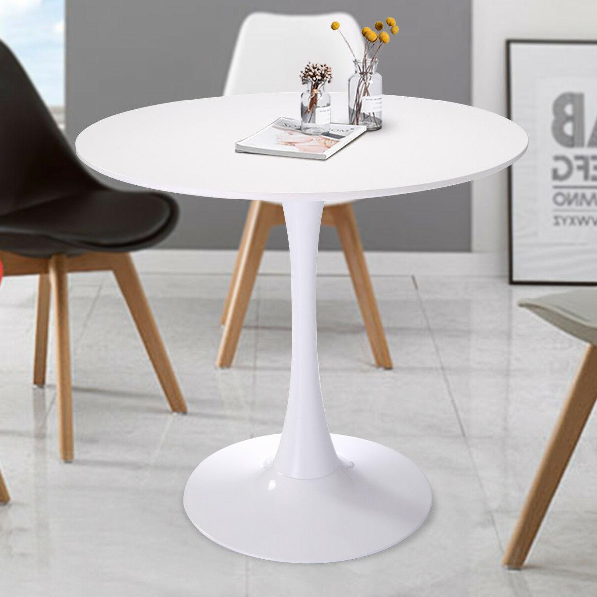 """32"""" Inch Dining Table Coffee Table in White"""