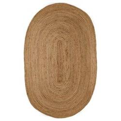 Kerala Natural Rug - Rug Size: Oval 6' x 9'