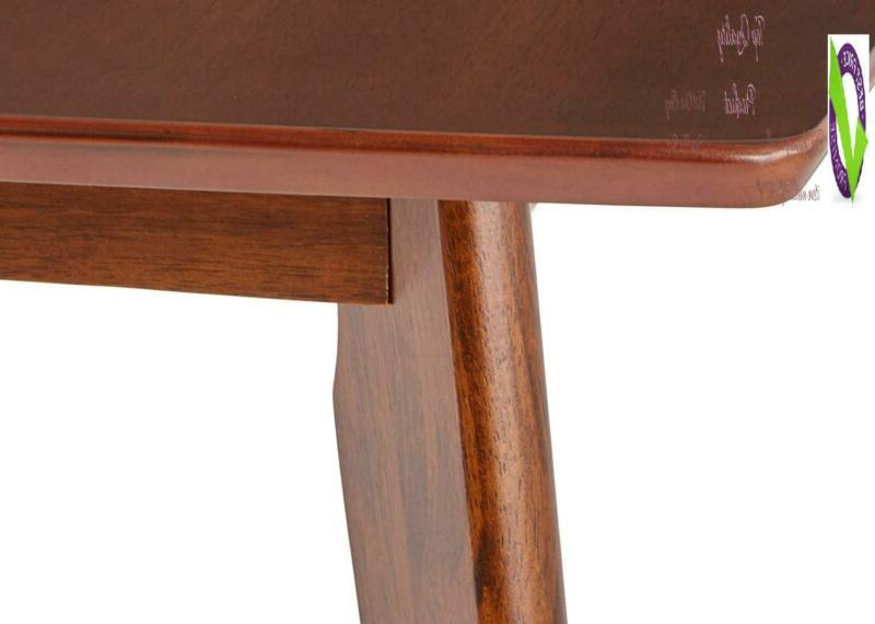 Kersey Dining Angled Chestnut