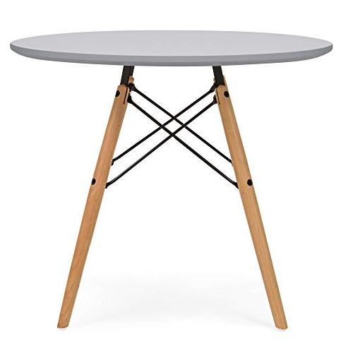 Best Choice Kids Mid-Century Modern Eames Style Dining Wood Chairs Gray