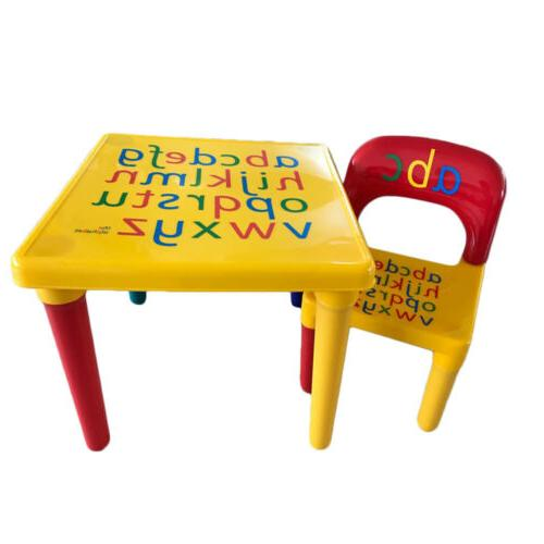 Kids Table And Chair Set Furniture Play Table Activity Child