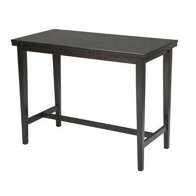 kimonte rectangular dining room counter