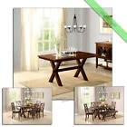 1 Pc Kitchen and Dining Room Table Maddox Crossing Wood Tabl